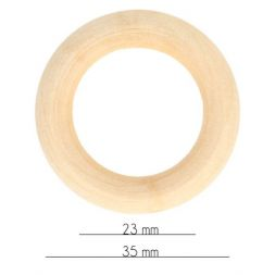 Houten ring 34-100mm