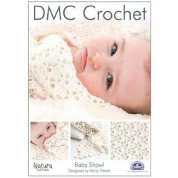 DMC Haakpatroon Baby Shawl