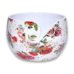 Durable Aluminium Yarn bowl Roses