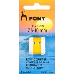 Pony toerentellers 7.5 - 10 mm 60663