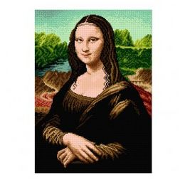 Voorbedrukt canvas Mona Lisa
