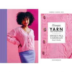 YARN THE AFTER PARTY NR.124 SWEET PEA CARDIGAN