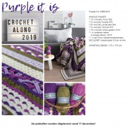 CAL 2019 Complications Purple it is! vierkant