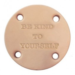 Leren label Be Kind To Yourself